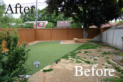 Before & After Photo Gallery - Michelangelo Putting Greens, Minneapolis