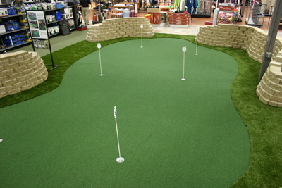Indoor Putting Greens Photo Gallery - Michelangelo Putting Greens, Minneapolis