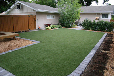 Lawns & Pet Areas & Waterless Grass Photo Gallery - Michelangelo Putting Greens, Minneapolis